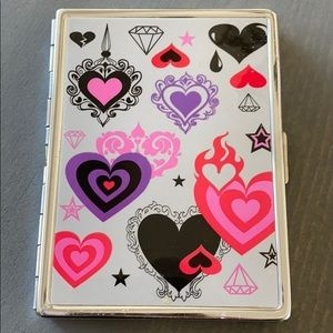 Hearts & Stars brand new FLUFF ID/Cards case!